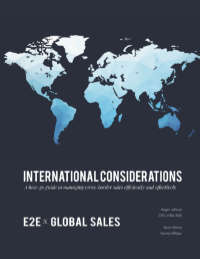 International Considerations by Roger LeFevre & Kevin Vlahos